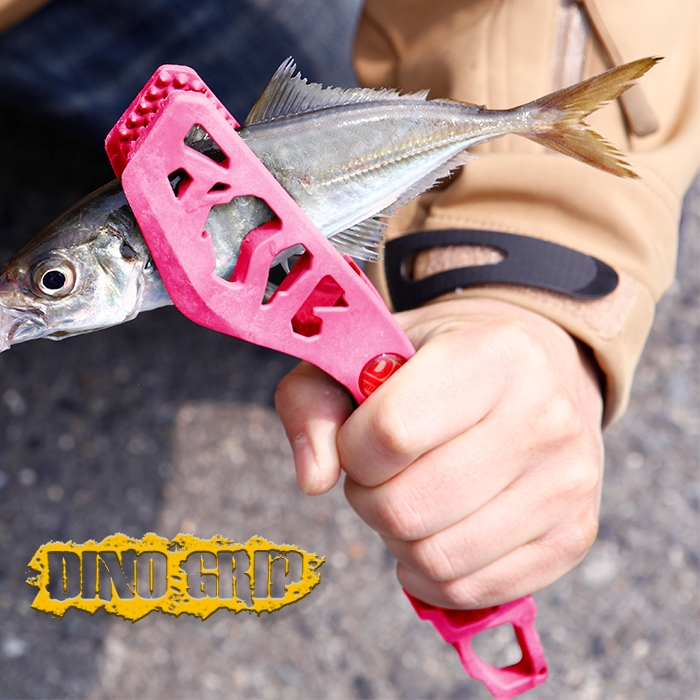 DRESS フィッシュグリップ(魚掴み器) DINO GRIP(ディノグリップ) ネオンカラー