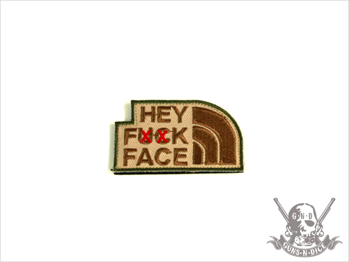 ミリタリーパッチ(ワッペン)「FXXKFACE」