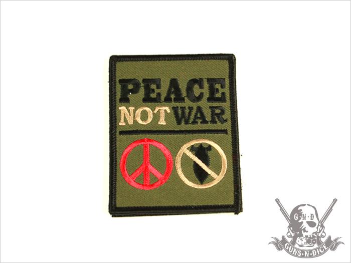 ミリタリーパッチ(ワッペン)「PEACE」