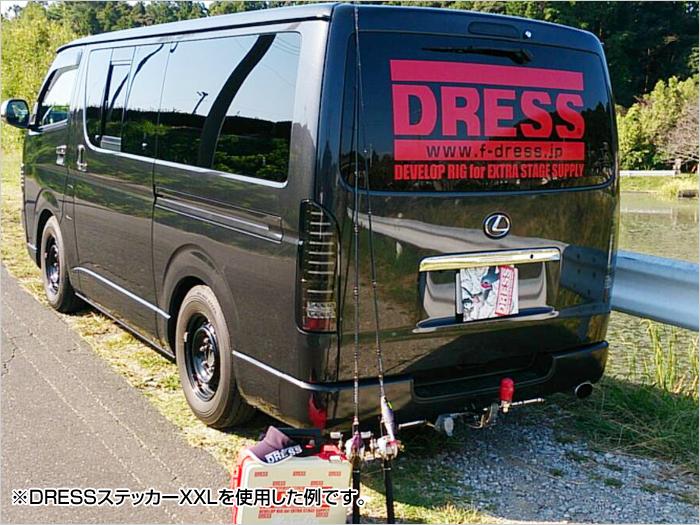 DRESSステッカー【XL】