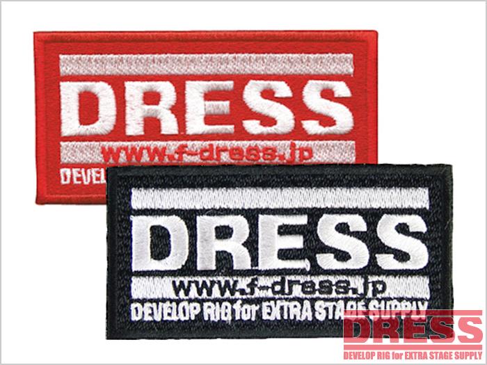 DRESS ワッペン Mサイズ