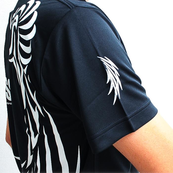 DRESSドライTシャツ DRESSロゴVer. ブラック/ホワイト