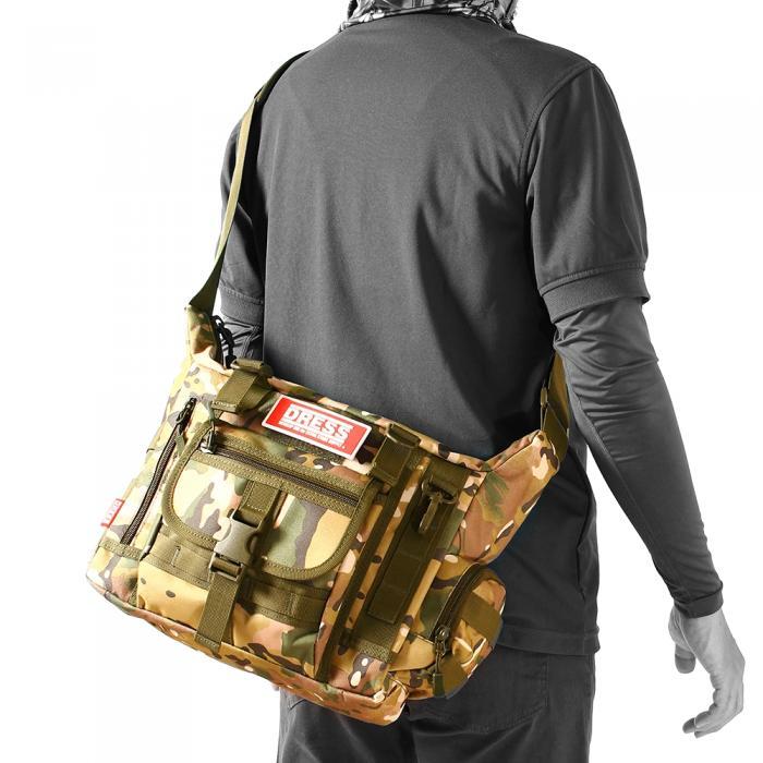 d303c379a65c4 ... DRESSミリタリーメッセンジャーバッグ ...