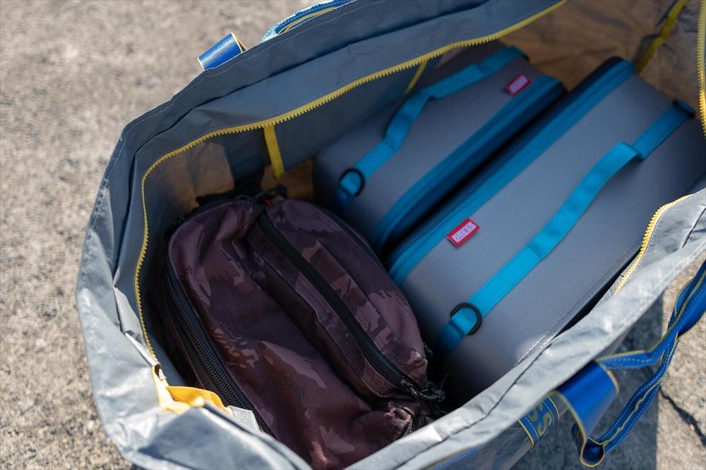 かさばる荷物もこれ一つで解決?!DRESSのギガトートバッグは移動に便利 ...